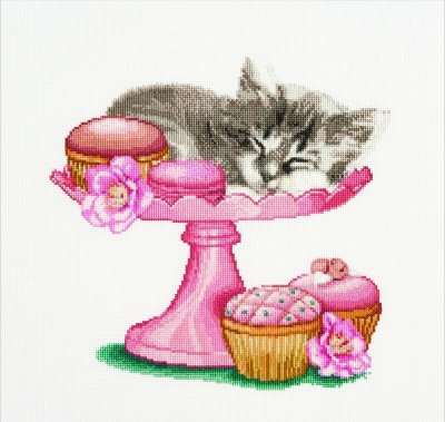 Sweet As Sugar - click here for more details about counted cross stitch kit