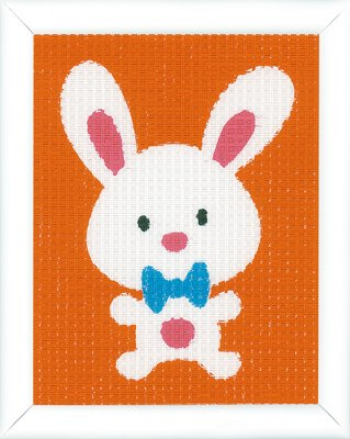 click here to view larger image of Cute Rabbit - Canvas (needlepoint)