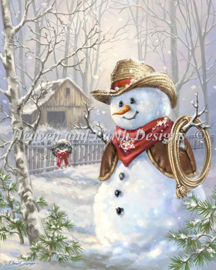 Cowboy Snowman - click here for more details about chart