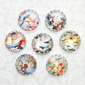 click here to view larger image of Assorted Bird Needle Minders (accessory)