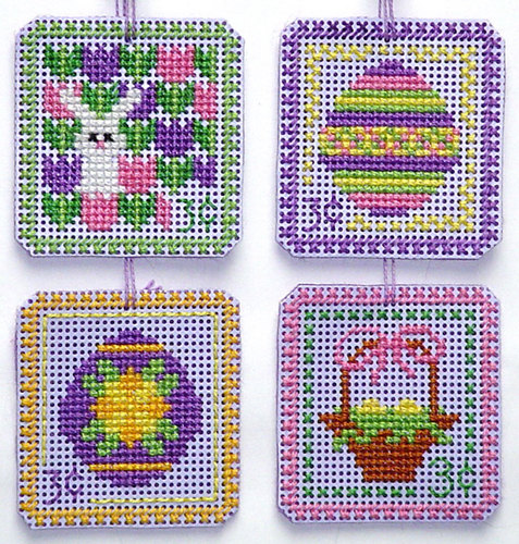 click here to view larger image of Easter Stamp 3 cent Set (chart)