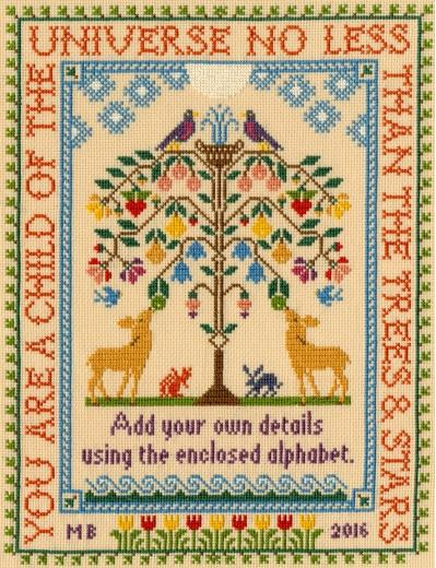 click here to view larger image of Tree of Life   (counted cross stitch kit)