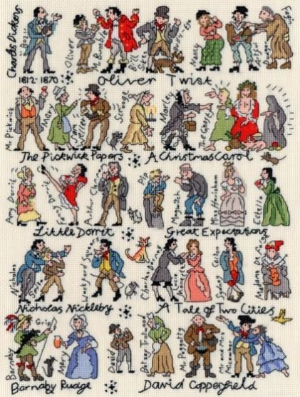 click here to view larger image of Dickens - Historical (counted cross stitch kit)