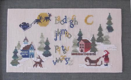 click here to view larger image of Christmas Woodland Sampler (chart)