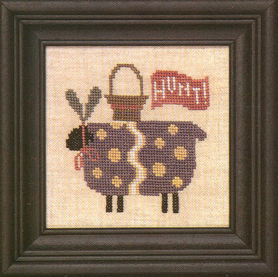 click here to view larger image of Ewe Hunt (counted cross stitch kit)