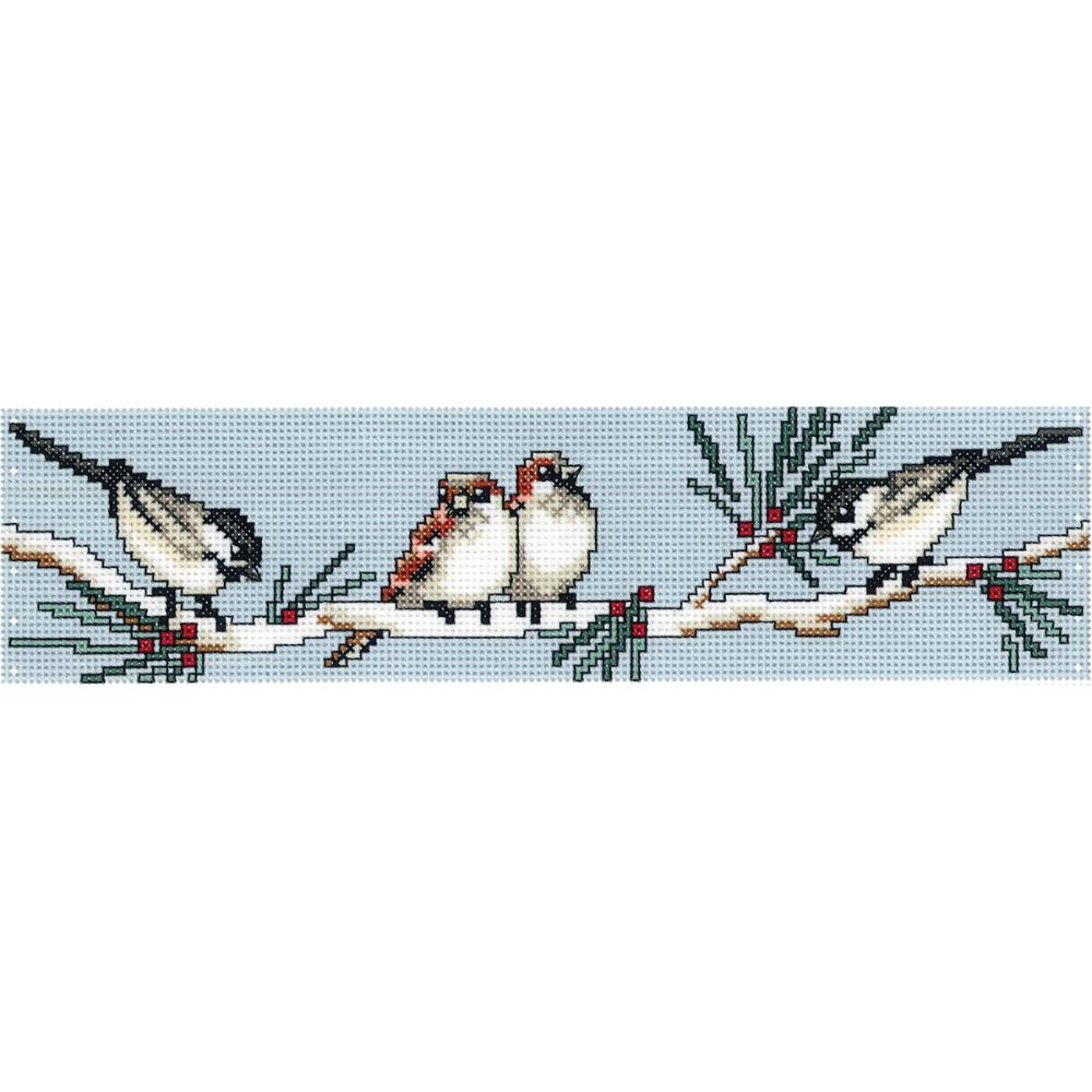 click here to view larger image of Birds On A Branch - Candle Corset (counted cross stitch kit)