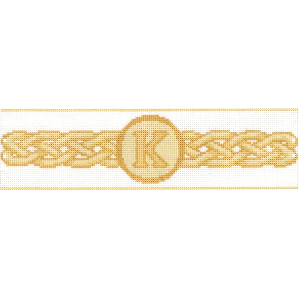 click here to view larger image of Celtic Monogram - Candle Corset (counted cross stitch kit)