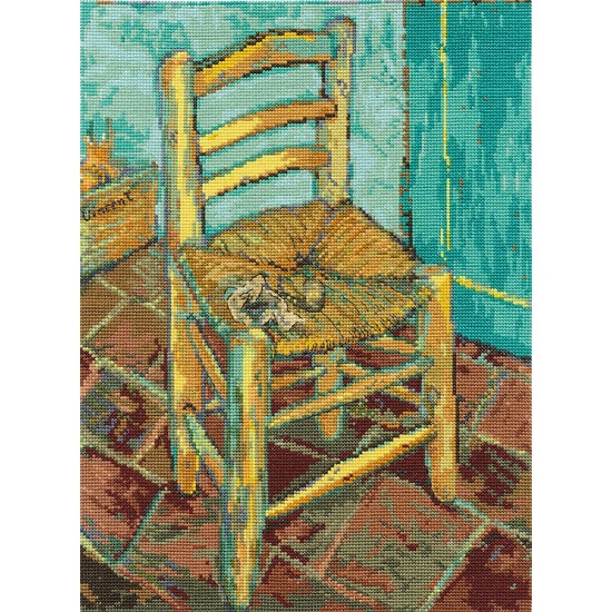 click here to view larger image of Van Goghs Chair (counted cross stitch kit)