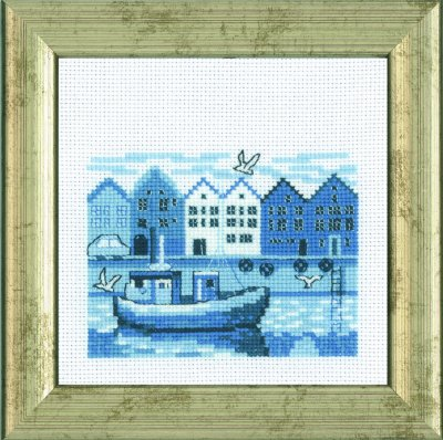 click here to view larger image of Harbour (counted cross stitch kit)