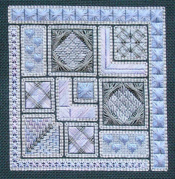 click here to view larger image of Stitch Softly (counted canvas chart)