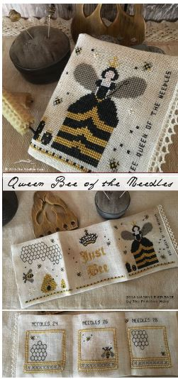 click here to view larger image of Bee Queen of the Needles (chart)