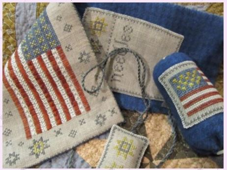 click here to view larger image of Flag of Glory Needle Book (chart)