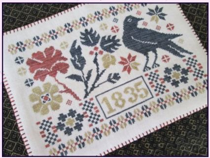 click here to view larger image of Coverlet Candle Mat (chart)