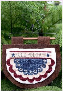 click here to view larger image of Old Glory (cross stitch) (chart)
