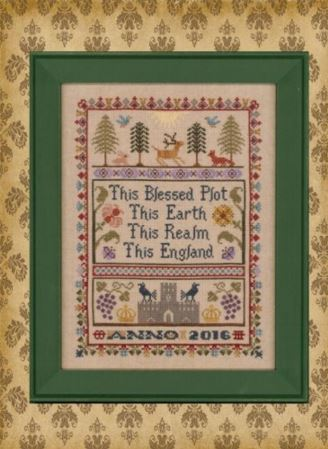 click here to view larger image of English Sampler, The (chart)
