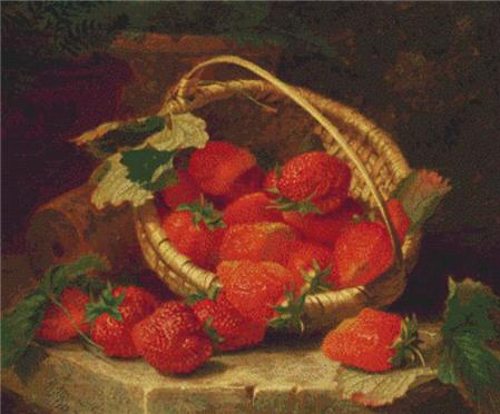 click here to view larger image of Basket of Strawberries, A (chart)