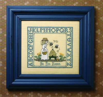 click here to view larger image of Bee Keeper, The (counted cross stitch kit)