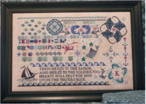click here to view larger image of Seaside Sampler (chart)