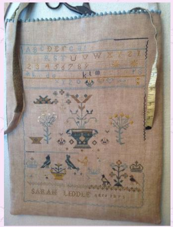 click here to view larger image of Sarah Liddle Sampler Bag (chart)
