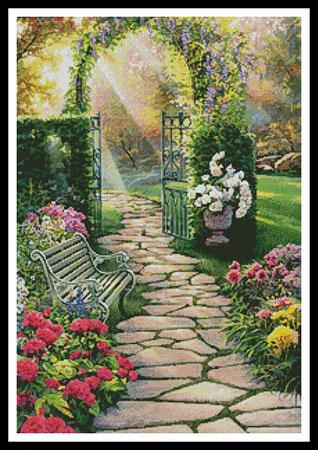 click here to view larger image of Garden Path  (Russell Cobane) (chart)