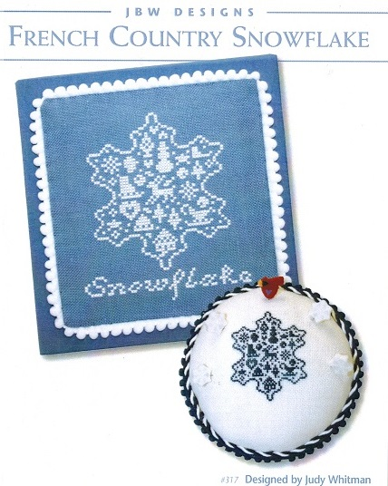 click here to view larger image of French Country Snowflake (chart)
