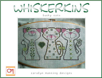 click here to view larger image of Whiskerkins Trio - Lucky Cats (March) (chart)