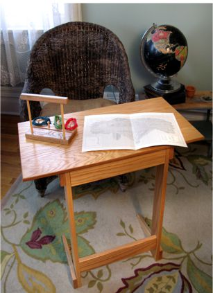 click here to view larger image of Lap Stitch Floor Table (accessory)