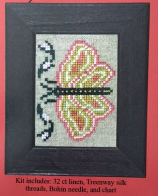 click here to view larger image of Sampler Bit 1836 (LIMITED) (counted cross stitch kit)