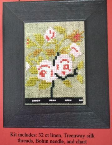 click here to view larger image of Sampler Bit 1870 (LIMITED) (counted cross stitch kit)