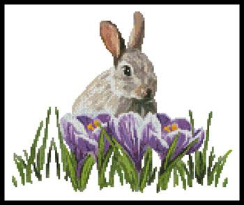 click here to view larger image of Crocus Bunny (chart)
