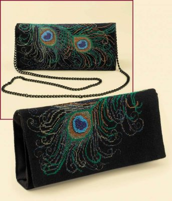 click here to view larger image of Evening Clutch Bag (counted cross stitch kit)
