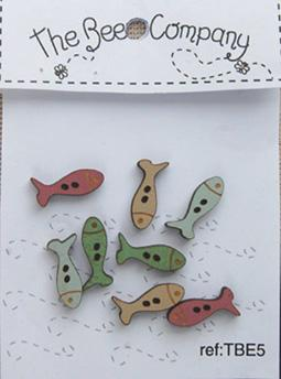 click here to view larger image of Fish Buttons (buttons)