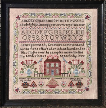 click here to view larger image of Miss Kellys School Sampler (chart)