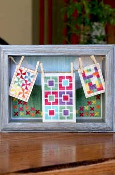 click here to view larger image of Oh You Pretty Things - Quilted Lovelies (chart)