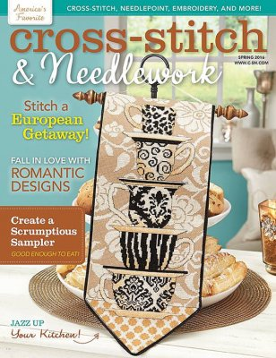 click here to view larger image of Cross Stitch & Needlework Magazine - Spring 2016 (magazines)