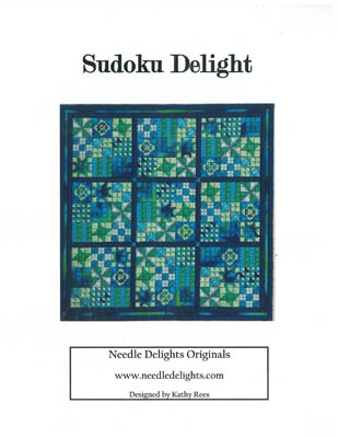 click here to view larger image of Sudoku Delight (counted canvas chart)