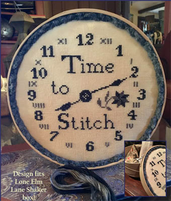click here to view larger image of Time To Stitch (chart)