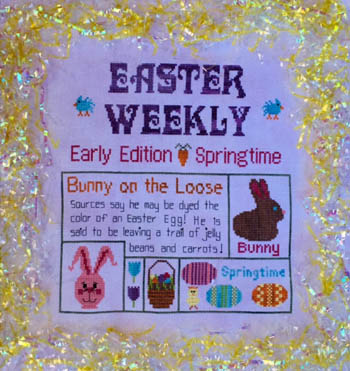 click here to view larger image of Easter Weekly (chart)