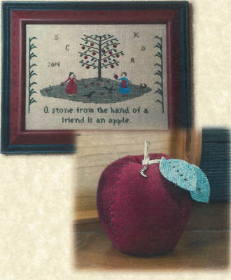 click here to view larger image of An Apple (Includes accessories) (chart with charms/buttons)