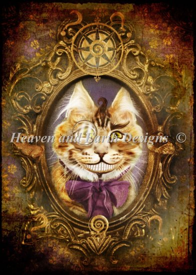 click here to view larger image of Mini Cheshire Cat (chart)