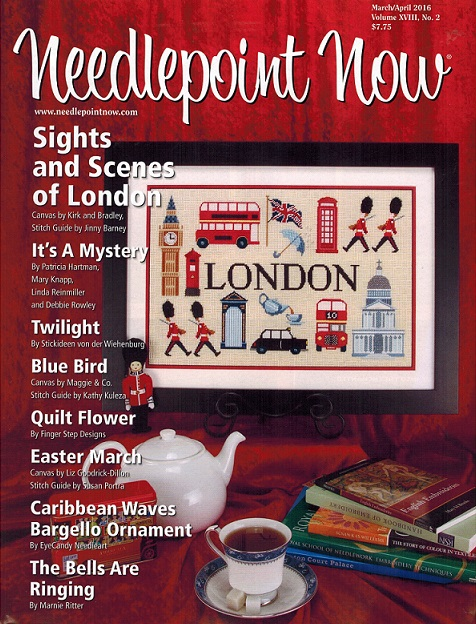 click here to view larger image of Needlepoint Now March/April 2016 (magazines)