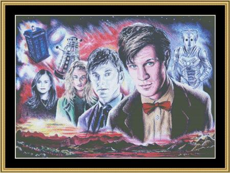 click here to view larger image of Doctor Who II (chart)