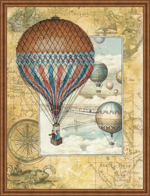 click here to view larger image of Around The World (counted cross stitch kit)