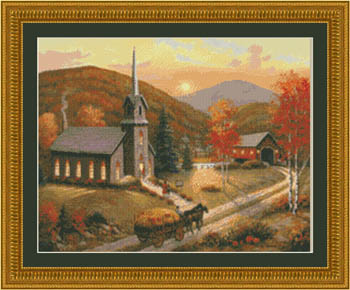 click here to view larger image of Autumn In Vermont (chart)