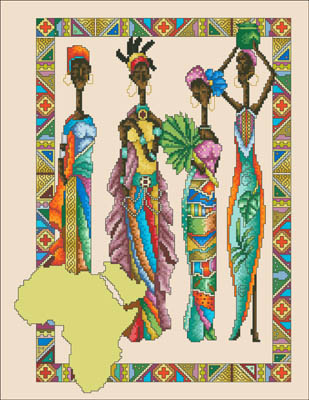 click here to view larger image of African Queens (chart)
