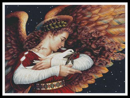click here to view larger image of Angel And The Dove, The  (Lynn Bywaters) (chart)