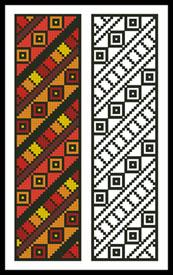 click here to view larger image of Tribal Bookmark (chart)