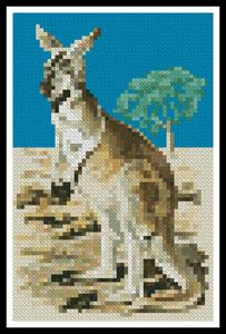 click here to view larger image of Mini Red Kangaroo  (Gerry Forster) (chart)