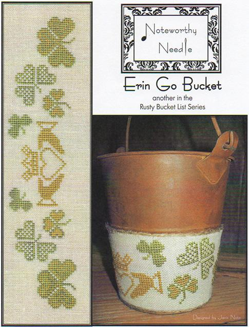 click here to view larger image of Erin Go Bucket - Rusty Bucket Series (chart)