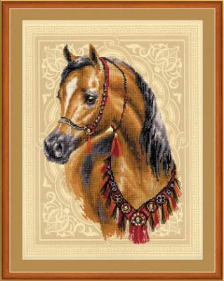 click here to view larger image of Arabian Horse (counted cross stitch kit)